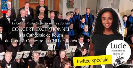 Concert à la cathédrale de Rouen - 26 novembre 2017