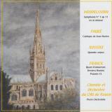 Visuel cd - Mendelssohn - Fauré - Rossini - Franck