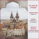 Visuel cd - Au cœur de l'Europe - 2004